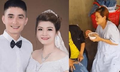 Chuyện thật như đùa: Cô dâu bất ngờ sinh con trong ngày cưới