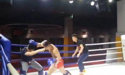 Cao thủ Bát Quái Chưởng bị võ sĩ MMA đánh ngã sấp mặt trong một phút