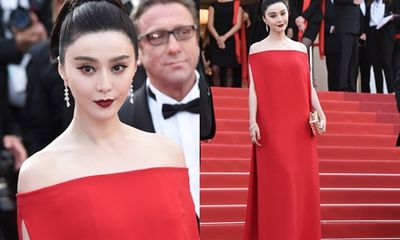 Phạm Băng Băng sang trọng quý phái trở thành tâm điểm tại Cannes