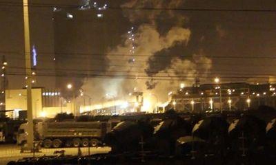Thông tin chính thức nguyên nhân vụ nổ tại Formosa Hà Tĩnh