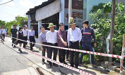 Lãnh đạo TP Hồ Chí Minh yêu cầu di dời khẩn cấp các hộ dân ra khỏi nơi sạt lở