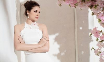Học cách diện đầm pastel đẹp tuyệt như Hoa hậu Phạm Hương