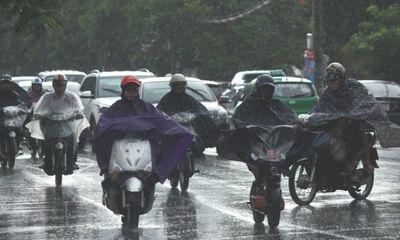 """Giữa nắng nóng gay gắt, TP Vinh xuất hiện """"mưa vàng"""" giảm gần 10 độ C"""