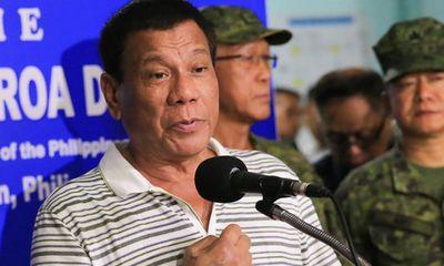 Tổng thống Philippines muốn san phẳng thành phố bị phiến quân thân IS chiếm đóng