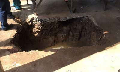 Đào hố ga, phát hiện mộ cổ nghi hơn 100 tuổi