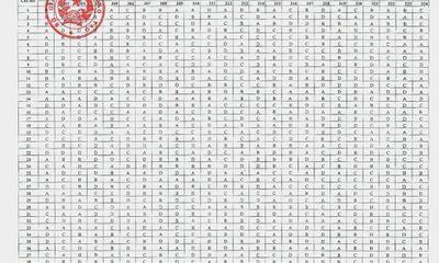 Kỳ thi THPT quốc gia 2017: Bộ GD-ĐT cập nhật lại đáp án môn Lịch sử
