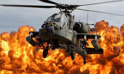 Sức mạnh quân sự: Mỹ thử nghiệm thành công vũ khí laser từ siêu trực thăng Apache