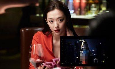 Phim vừa công chiếu, cảnh nhạy cảm của Sulli và Kim Soo Hyun đã bị tiết lộ trên mạng