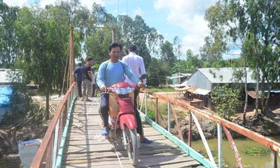Tập đoàn Tân Hiệp Phát tiếp tục tài trợ kinh phí xây cầu tại các tỉnh Đồng Bằng Sông Cửu Long