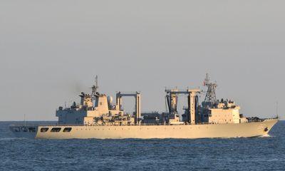 Anh, Hà Lan, Đan Mạch cùng điều tàu theo dõi tàu chiến Trung Quốc
