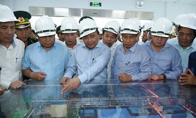 Thủ tướng thị sát và làm việc tại Formosa Hà Tĩnh