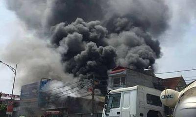 Hiện trường vụ cháy xưởng sản xuất bánh khiến 8 người chết