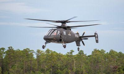 Trực thăng quân sự mới nhất của Mỹ rơi