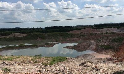 Chí Linh: Khai thác đất sét hàng chục năm không hoàn thổ vẫn xin mở rộng tận thu khoáng sản