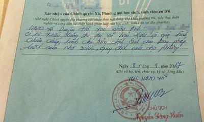 Chủ tịch Hà Nội yêu cầu kiểm điểm cán bộ bút phê vào sơ yếu lý lịch sai quy định