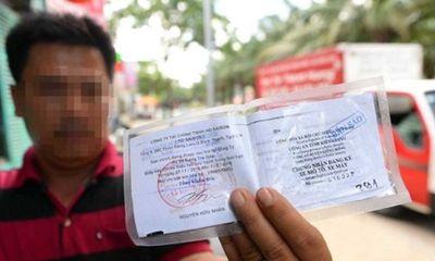 Người dân được dùng bản sao giấy đăng ký xe khi tham gia giao thông