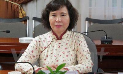 Miễn nhiệm chức Thứ trưởng Bộ Công Thương với bà Hồ Thị Kim Thoa