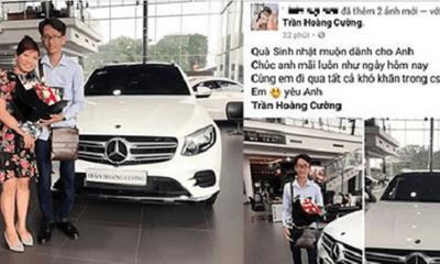 Sự thật câu chuyện vợ làm thê lương 3 triệu mua xe 2,4 tỷ tặng sinh nhật chồng