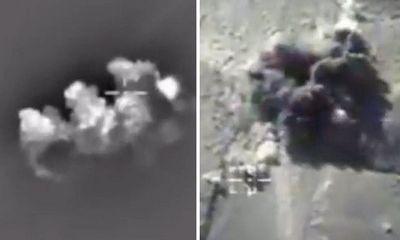 Hơn 200 tên khủng bố IS bị máy bay Nga tiêu diệt