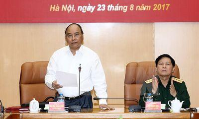 Thủ tướng: Xây dựng khu vực phòng thủ là chiến lược quan trọng