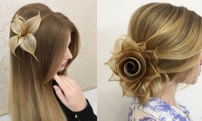 Cách vấn các kiểu tóc đẹp, sang trọng mà không cần dùng phụ kiện