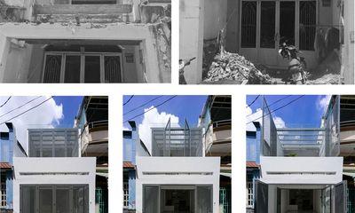 Ngôi nhà 40m² từ xuống cấp trầm trọng thành nơi