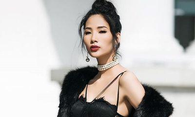 Hoàng Thùy chính thức tham dự Hoa hậu Hoàn vũ Việt Nam 2017