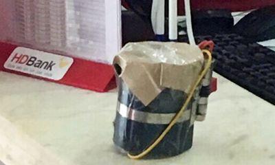 Vụ cướp ngân hàng HDBank: Tên cướp dùng trái nổ tự tạo