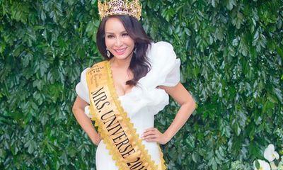 Hoa hậu Lưu Hoàng Trâm mong muốn đưa Mrs Universe 2018 về Việt Nam