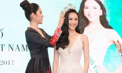 Hà Thu chính thức nhận vương miện Hoa hậu Trái Đất Việt Nam
