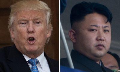 """Tổng thống Donald Trump gọi ông Kim Jong-un là """"gã tên lửa"""""""