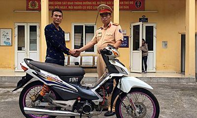 Hà Nội: Nhận lại xe máy bị mất cắp sau gần 1 năm