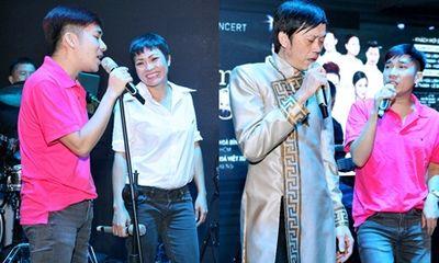 Hoài Linh, Phương Thanh miệt mài tập hát cùng Quang Hà