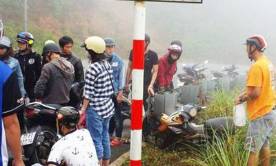 Tông vào taluy khi đi phượt, nam sinh viên tử vong trên núi Sơn Trà