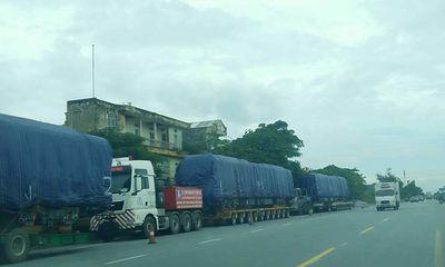 Thêm 4 đoàn tàu cho tuyến Cát Linh - Hà Đông được chở về Hà Nội