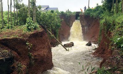 Hồ chứa hơn 4 triệu m3 nước ở Bà Rịa - Vũng Tàu có nguy cơ vỡ