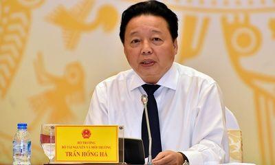 Vụ Cục phó mất trộm gần 400 triệu: Bộ trưởng Trần Hồng Hà lên tiếng