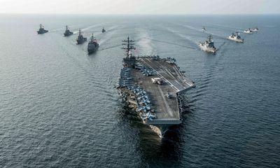 Tàu sân bay Mỹ chở gần 80 máy bay tới bán đảo Triều Tiên