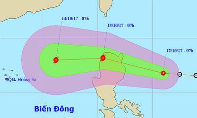 Biển Đông chuẩn bị đón bão số 11