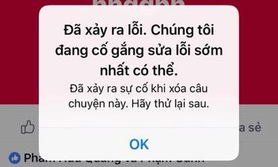 Facebook lỗi toàn cầu, Việt Nam nằm trong khu vực bị ảnh hưởng