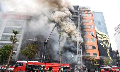 Kết luận điều tra vụ cháy quán karaoke làm 13 người tử vong tại Hà Nội