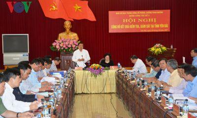 Kỷ luật 127 đảng viên liên quan tham nhũng, sai phạm kinh tế ở Yên Bái