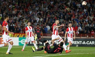 Đánh bại Crvena Zvezda, Arsenal duy trì mạch toàn thắng ở Europa League