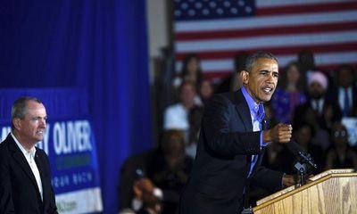 """Cựu Tổng Thống Obama trở lại chính trường sau thời gian """"ở ẩn"""""""