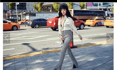 Diện đồ của thương hiệu Việt, Jolie Nguyễn tiếp tục lên báo nước ngoài