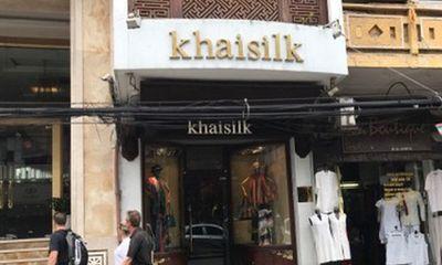 Người phát giác công ty Hoàng Khải bán lụa Tàu chưa nhận được phản hồi nào từ Khaisilk