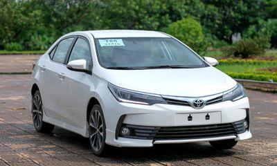 Toyota giảm giá nhiều mẫu xe lên tới 60 triệu đồng