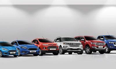 Bảng giá xe Ford mới nhất tháng 11 tại Việt Nam