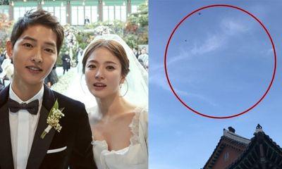 Hàn Quốc: Việc dùng flycam trong đám cưới Song Joong-ki là bất hợp pháp