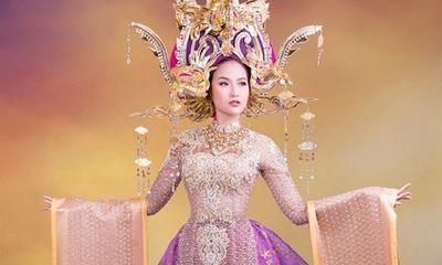 Hé lộ trang phục dân tộc của Khánh Ngân tại Miss Globe 2017